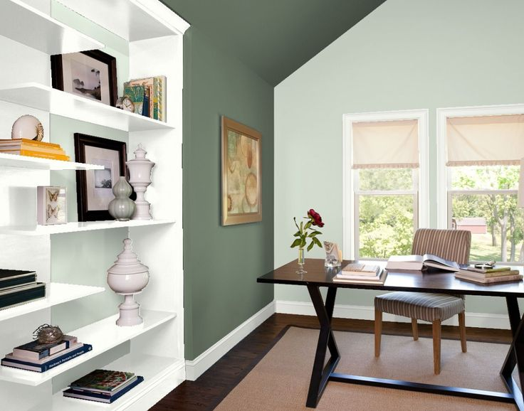 want to feel more relaxed while you work in your office on green office paint color id=11885