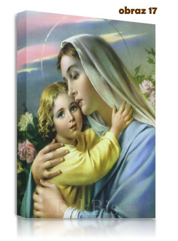 #obrazy na płótnie  #canvas #Matka #Boska