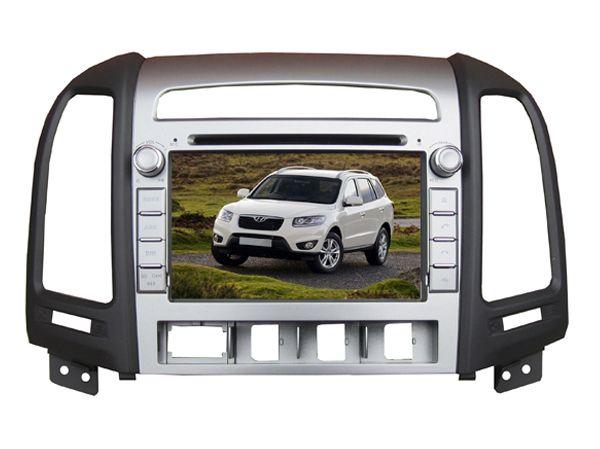 FREE SHIPPING Car DVD Player for HYUNDAI SANTA FE SANTAFE 2006 2007 2008 2009 2010 Bluetooth GPS Navigation Radio Map+camera