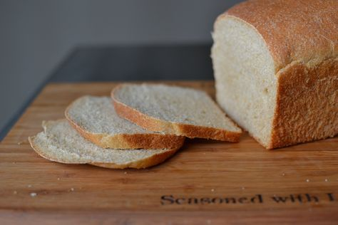 This is our family's basic sandwich loaf. It is simple to make, and inexpensive to boot. Best of all, you can work it into your time schedule. Recipe makes 2 loafs, you could half it, but in my ...