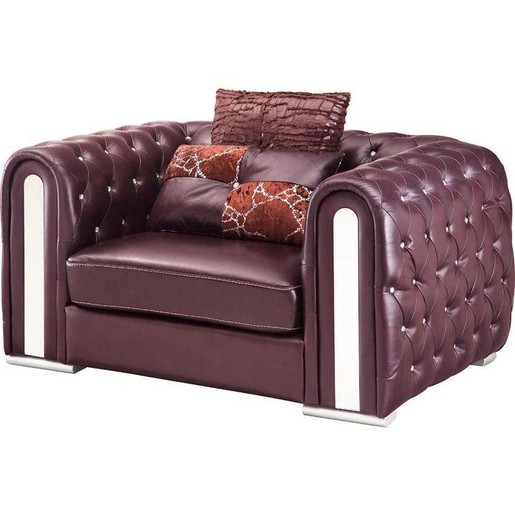 Full Leather Chair #leatherchair #furniture #livingroomfurniture