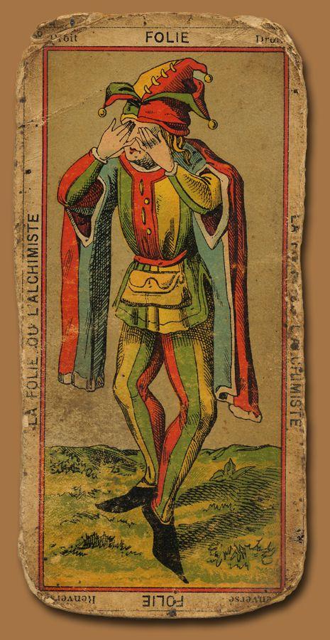 Antique tarot card. --> http://All-About-Tarot.com <--