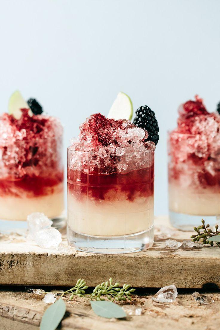 italian blackberry bramble non-alcoholic cocktail