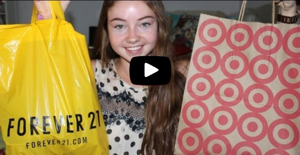Back To School Fall Haul 2012