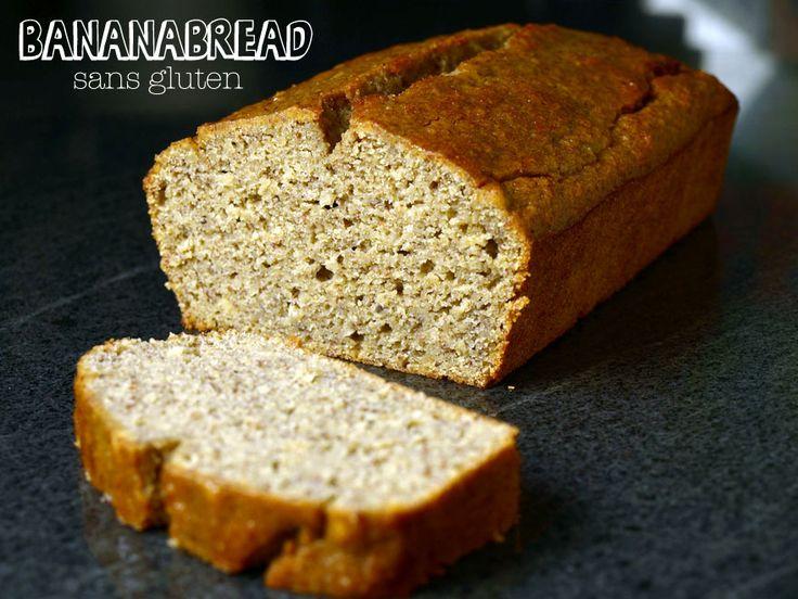 Cake à la banane sans gluten, sans lactose #banabread #glutenfree