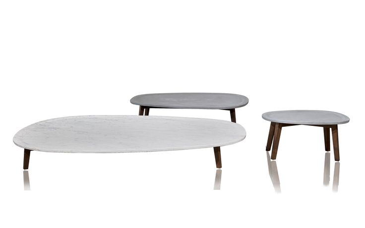 Table basse contemporaine en marbre vietri by paola for Tables basses contemporaines