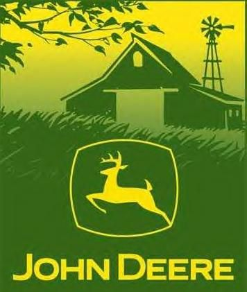 If Mom would let him, my dad would paint their house green and yellow to honor John Deere.