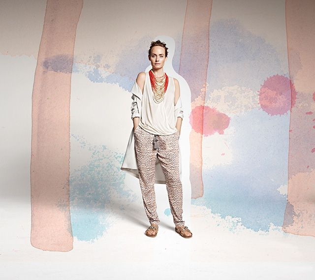 Эмбер Валлетта в рекламной кампании H&M Conscious (фото 3)