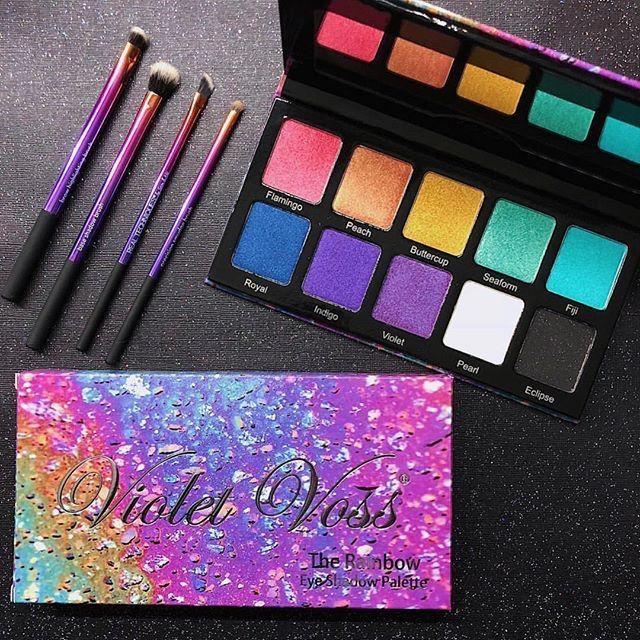 Violet Voss Rainbow Palette Rainbow Palette Creative Makeup