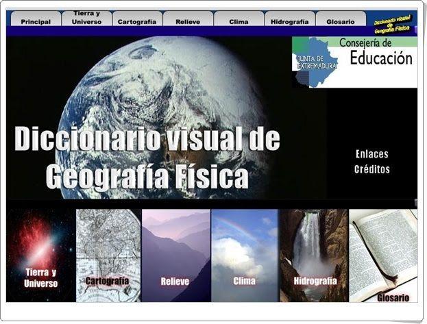 Diccionario visual de Geografía Física (Educarex.es)