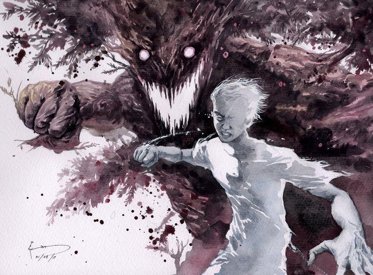 A Monster Calls - The Invisible Man by Nick-Ian.deviantart.com on @DeviantArt
