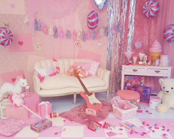 1000 id es sur le th me kawaii bedroom sur pinterest for Chambre kawaii