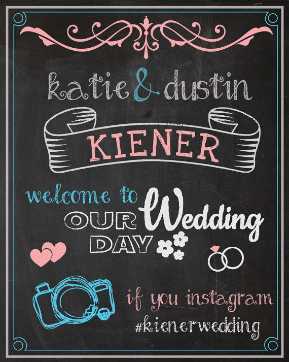 A Board With Cute Font Like This To Say Whos In The Party And Family
