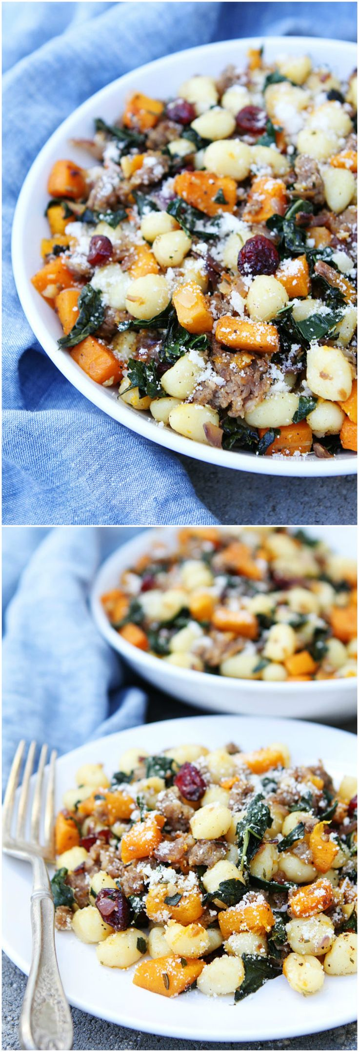 ... on Pinterest | Butternut squash, Thanksgiving sides and Gnocchi