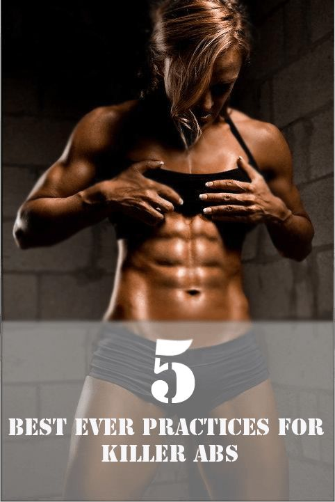 how to get toned abs workout