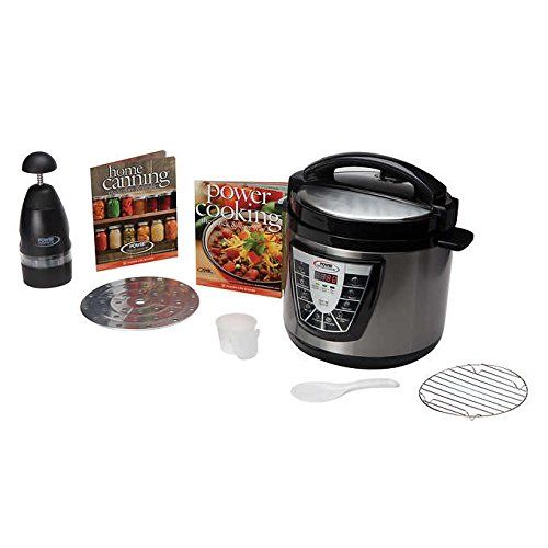 Want This:  Power Pressure Cooker XL 8 Quart with Digital Display Panel and One