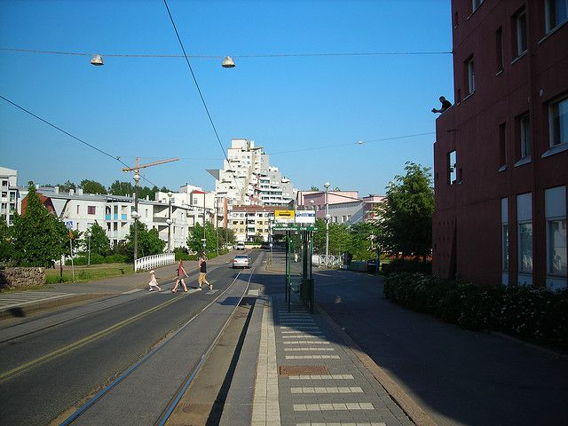 Pikku Huopalahti, Helsinki.