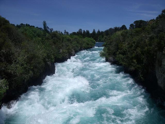 Huka Falls, #Rotorua, #NewZealand