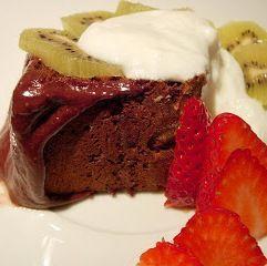 Se acrescentar fruta fresca cortada em pedaços este bolo sobe de nível