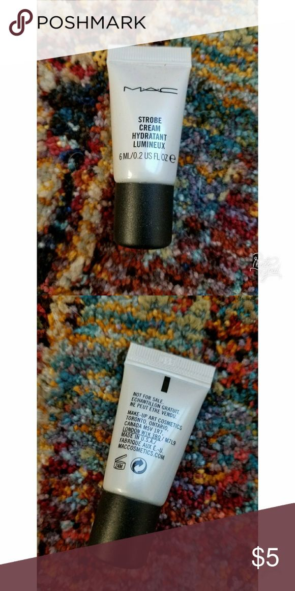 MAC MAC sample of strobe cream. Never been used. MAC Cosmetics Makeup Face Primer