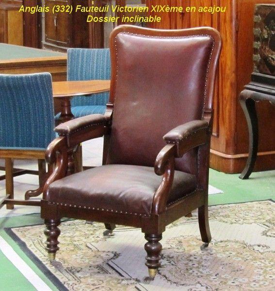 Les 25 meilleures id es de la cat gorie fauteuil victorien sur pinterest ch - Meubles anglais paris ...