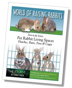Rabbit cage, rabbit hutch building plans, links to free cage plans