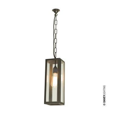 7649 PE Narrow Box Pendant Light By Davey Lighting