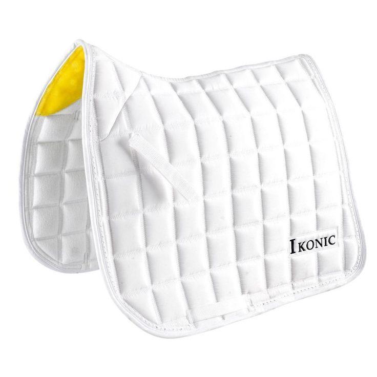 IKONIC Dressage saddle pad with strass Czaprak ujeżdżeniowy IKONIC z kryształkami