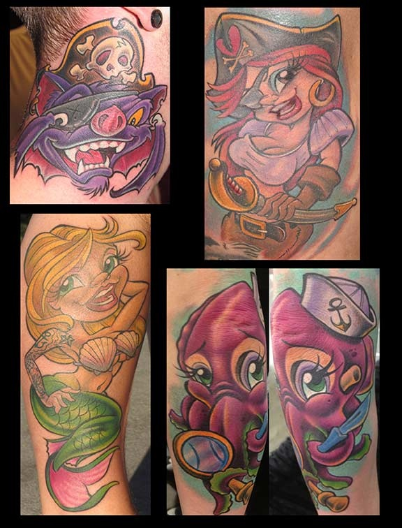 17 best images about jime litwalk tats on pinterest for Tattoo shops in orlando fl