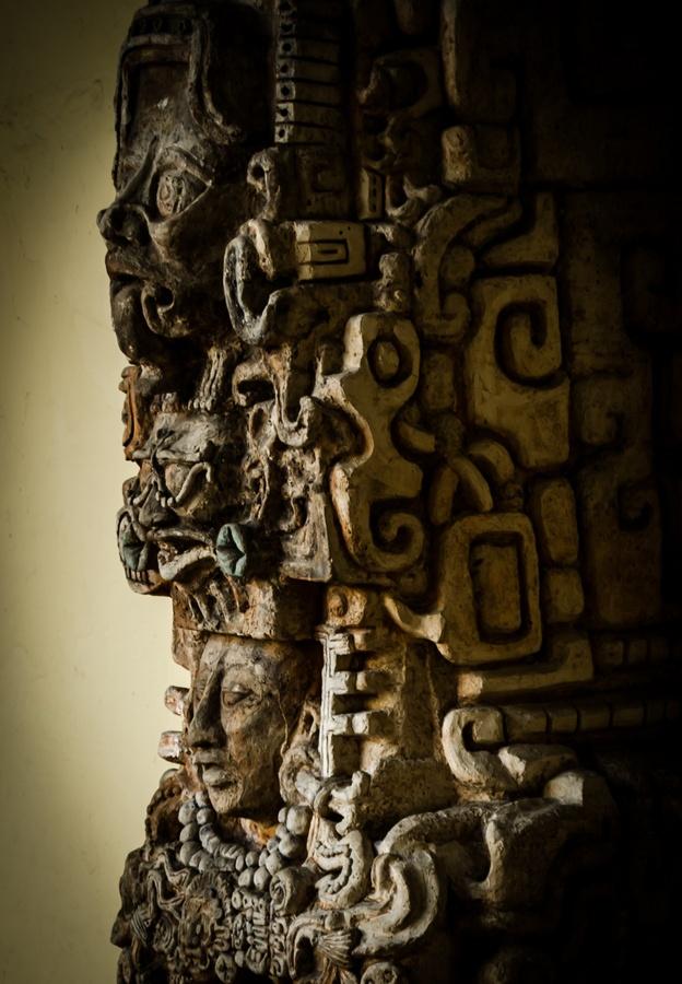 Escultura Maya: Ancient Astronaut, Photo