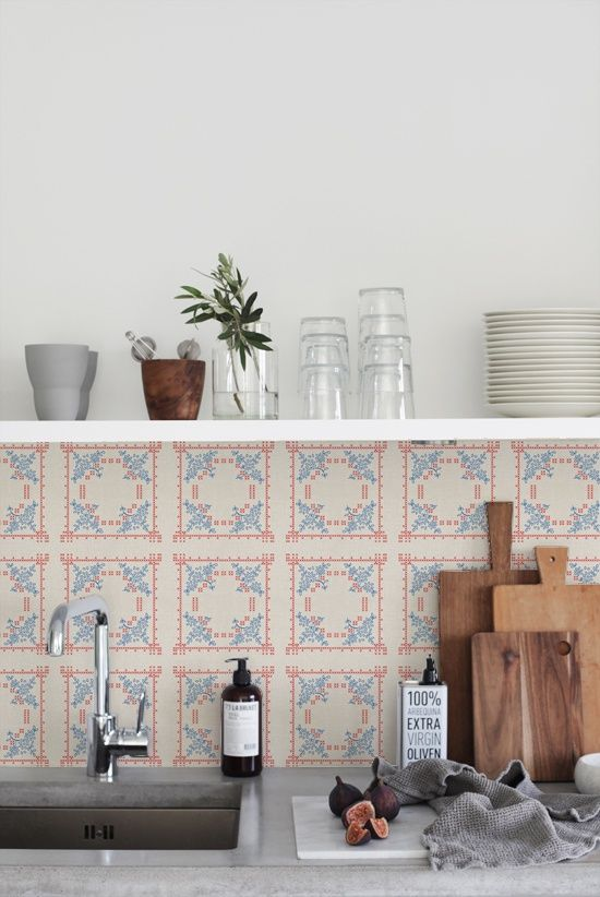 kitchen styling + tile backsplash