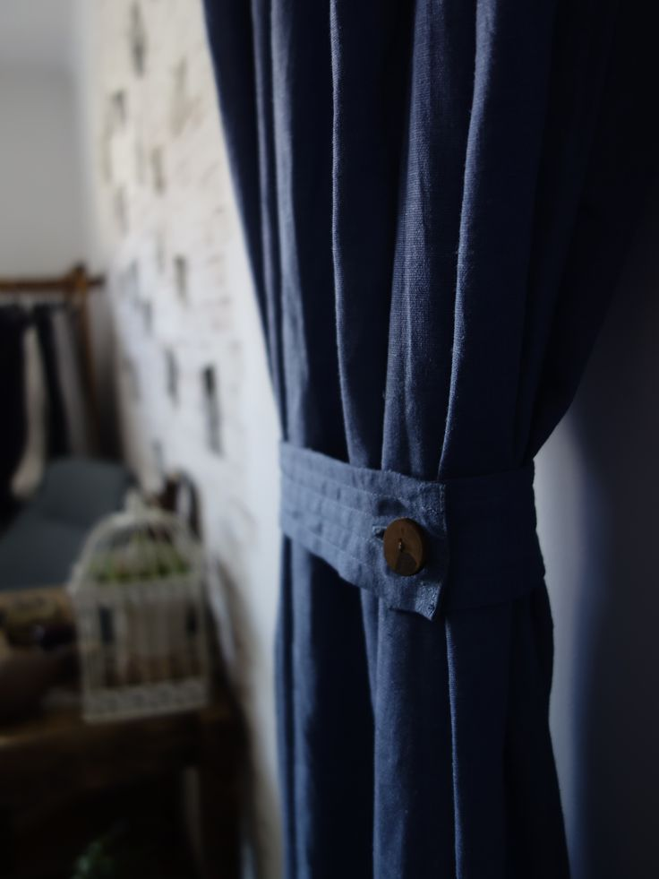 Washed Linen Drapes/Curtain