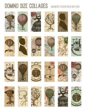 Steampunk Images Kit 2! TGF Premium - The Graphics Fairy