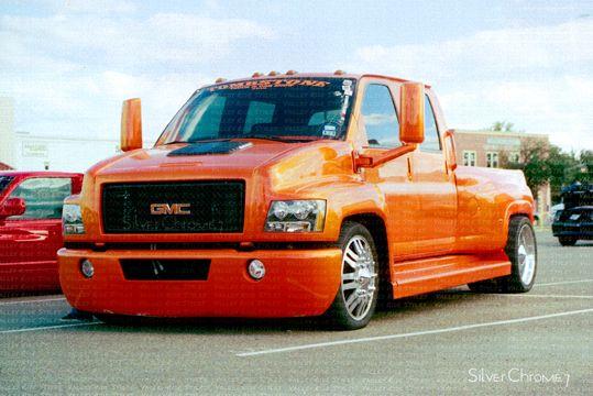 Chevy Topkick Truck | custom 2007 gmc c4500 topkick medium duty truck