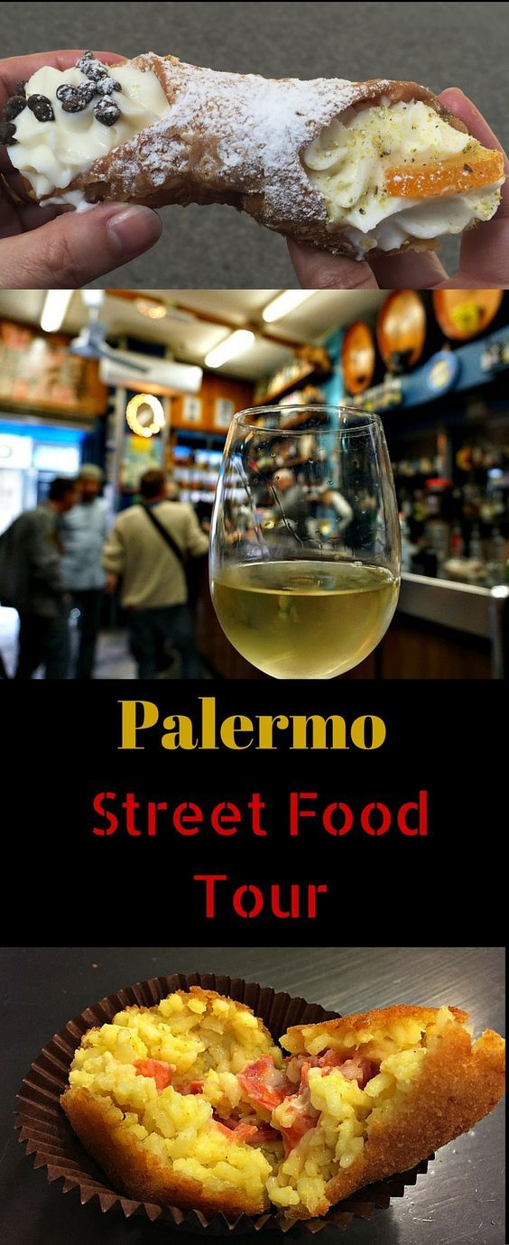 Palermo Sicily Food Tour - eating like a local, with a local. Palermo is famous for its street food. Stop into local bars for a glass of wine, shop for olive and cheese, and taste delicacies like stuffed anancine rice balls. Deliciously fun experience that you shouldn't miss during a trip to Sicily