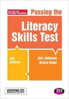 Great for preparing for the Literacy Skills Test