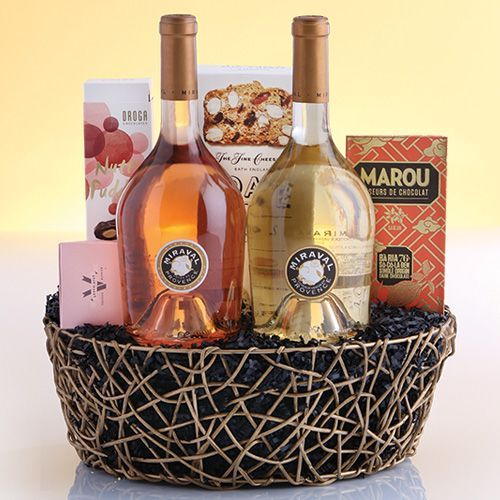 miraval wine | Miraval Basket wallysgiftbaskets.com