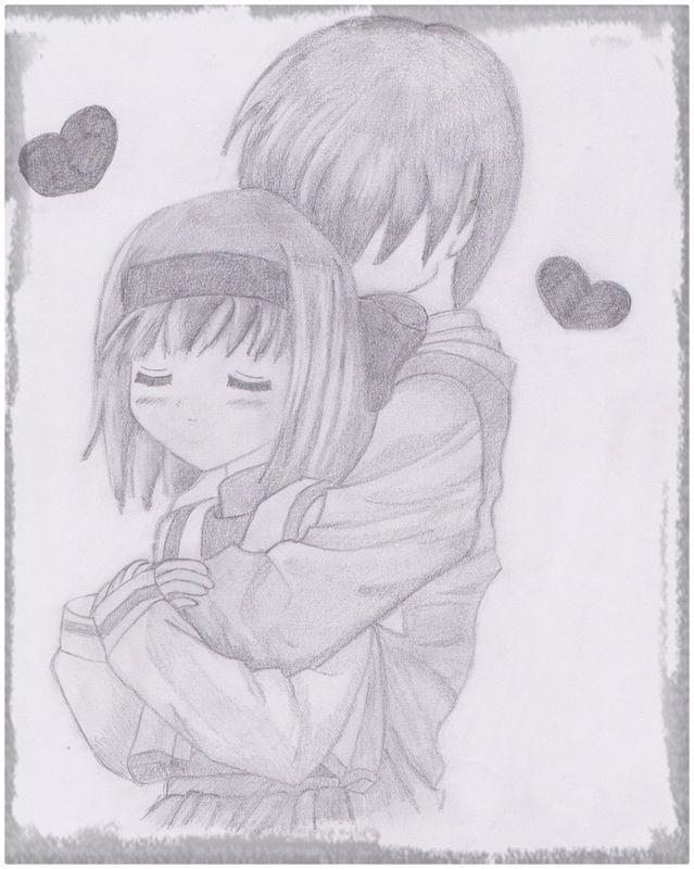 Dibujos Anime A Lapiz De Amor Aqui Veras Las Mas Bellas Imagenes De Parejas Que Muestran Su Amor De Forma Muy Tierna Haz C Love Drawings Anime Pencil Drawings