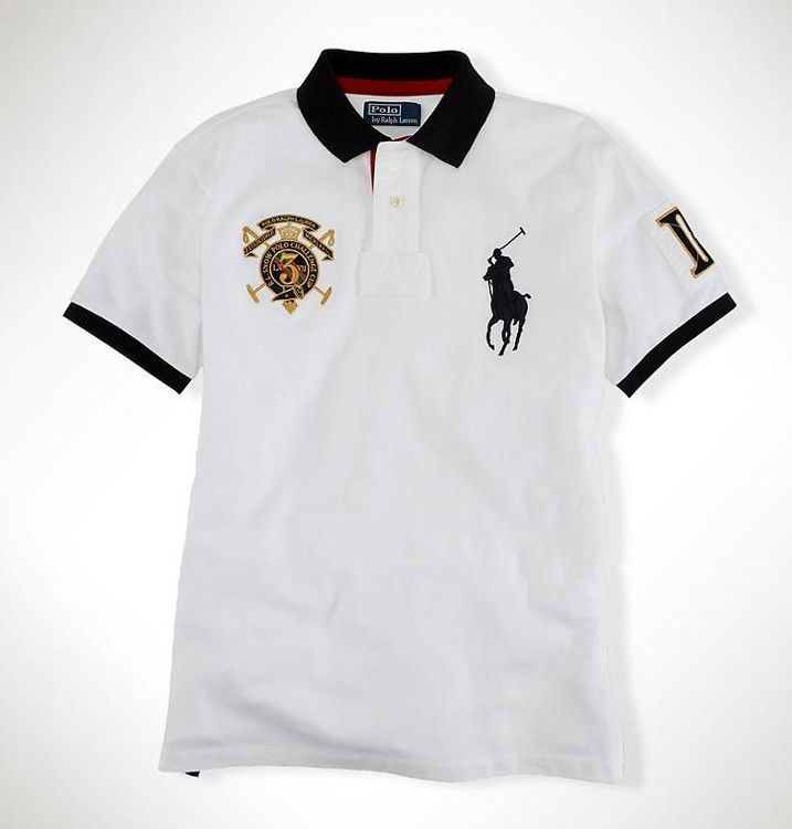 Cheap Polo Ralph Lauren Men Snow Polo Challenge Cup White