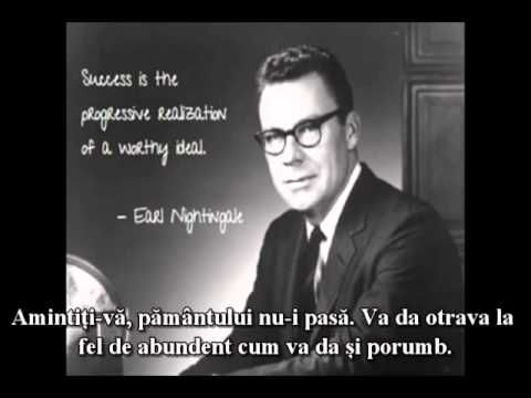 """Legea succesului. """"Cel mai neobisnuit secret"""" - Earl Nightingale"""
