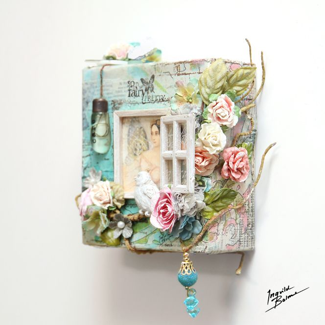 mini canvas by Ingvild Bolme