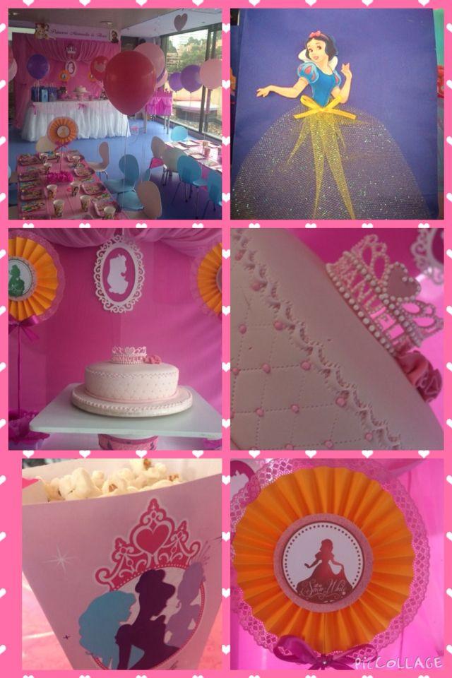 Market place decoracion princesas de disney party - Decoracion fiesta princesas disney ...