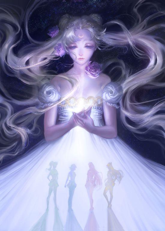 Sailor Moon Serenity Art Print                                                                                                                                                                                 More