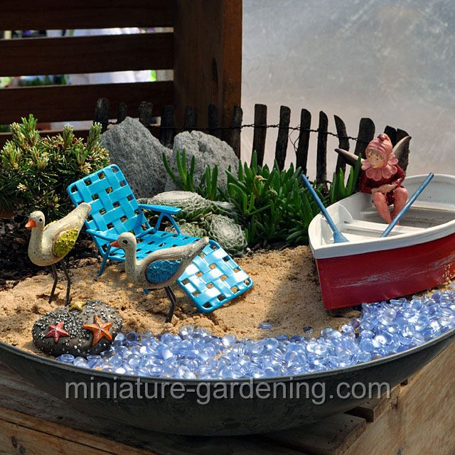 Fairy And Birds By The Water: #fairygarden