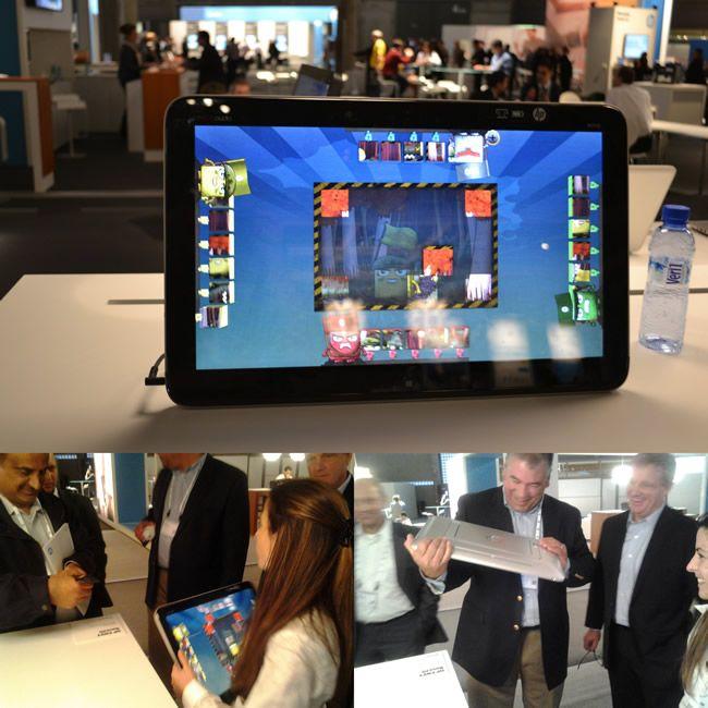 """HP Envy Rove 20: Una computadora """"todo en uno"""" que parece una tablet #HPDiscover"""