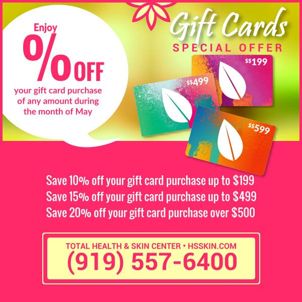 Gift Cards For Mom Skin Center Skin Health Spa Specials