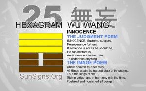 "25: 無妄 - Wu Wang ""Innocence"""