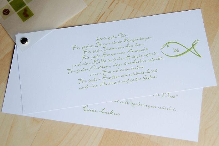 Einladungskarten - ♥ Einladungskarte Kommunion Einladung Danksagung - ein Designerstück von marion-designisch bei DaWanda