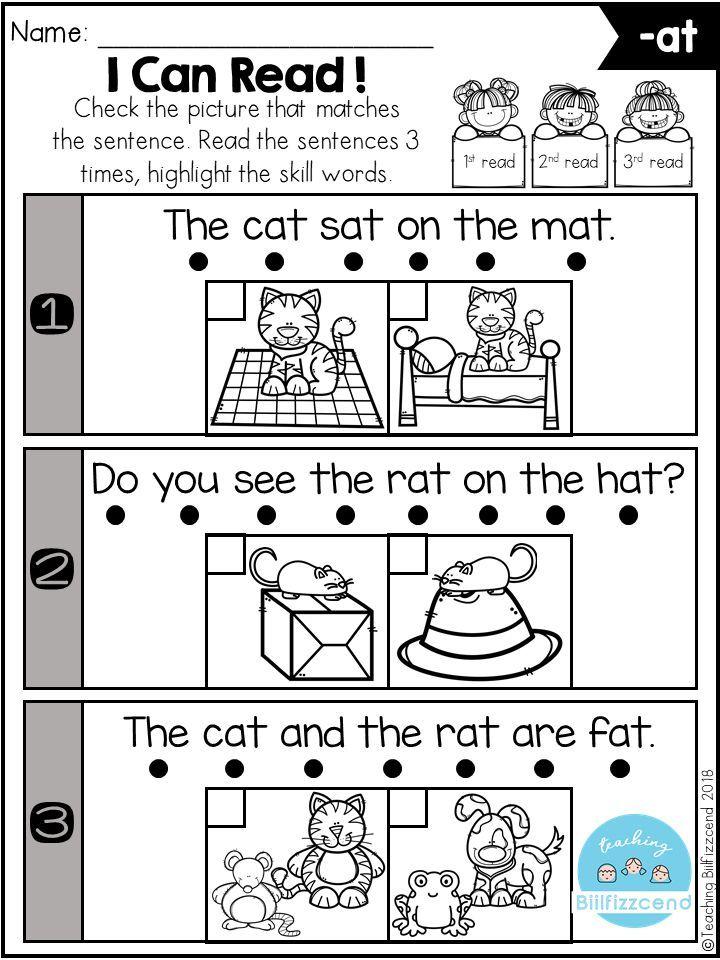 Free Phonics Fluency Check Reading Fluency Kindergarten Phonics Kindergarten Phonics Free
