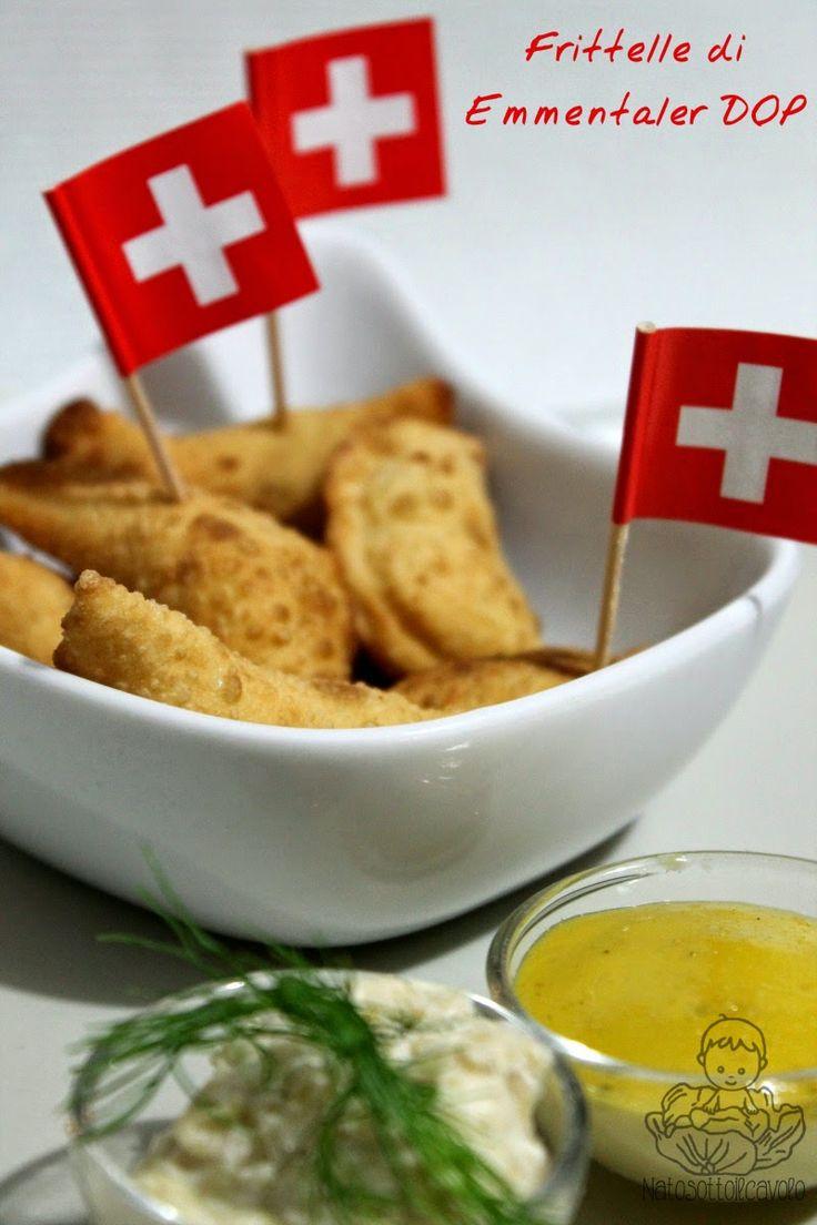 natosottoilcavolo: Frittelle di Emmentaler DOP e acciughe con mousse ...